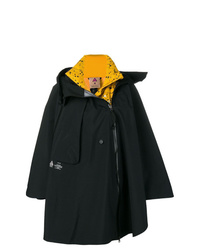 schwarze Regenjacke von Nike