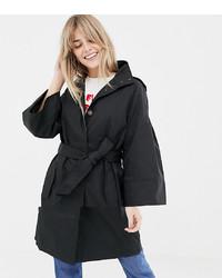 schwarze Regenjacke von Vero Moda