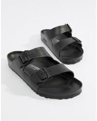 schwarze Sandalen von Birkenstock
