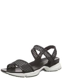 schwarze Sandalen von Casadei