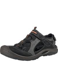 schwarze Sandalen von Ecco