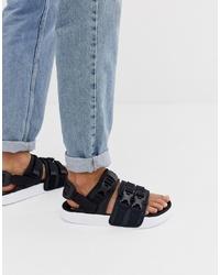 schwarze Sandalen von Puma
