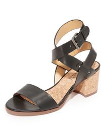 schwarze Sandalen von Splendid