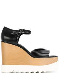 schwarze Sandalen von Stella McCartney