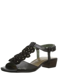 Modische schwarze Sandalen für Damen von Tamaris für Winter