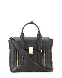 schwarze Satchel-Tasche aus Leder von 3.1 Phillip Lim