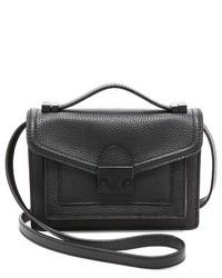 schwarze Satchel-Tasche aus Leder von Loeffler Randall