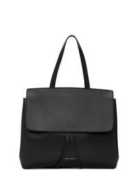 schwarze Satchel-Tasche aus Leder von Mansur Gavriel