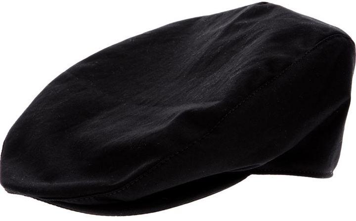 schwarze Schiebermütze von Dolce & Gabbana