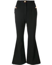 schwarze Schlaghose von Dolce & Gabbana