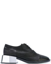 schwarze Schnürschuhe von MM6 MAISON MARGIELA