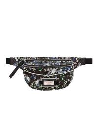 schwarze Segeltuch Bauchtasche von Givenchy