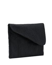 schwarze Segeltuch Clutch von FERDINandNOAH