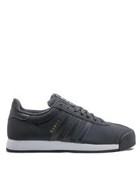 schwarze Segeltuch niedrige Sneakers von adidas