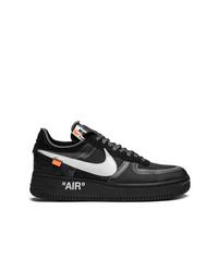 schwarze Segeltuch niedrige Sneakers von Nike