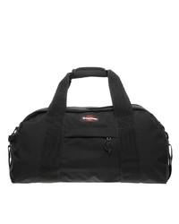 schwarze Segeltuch Sporttasche