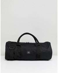 schwarze Segeltuch Sporttasche von ASOS DESIGN