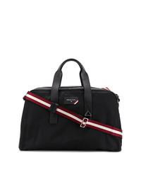 schwarze Segeltuch Sporttasche von Bally