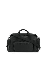 schwarze Segeltuch Sporttasche von DSQUARED2