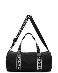 schwarze Segeltuch Sporttasche von Givenchy