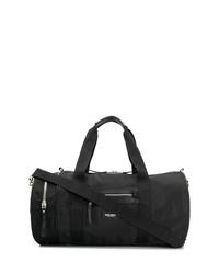 schwarze Segeltuch Sporttasche von Ron Dorff