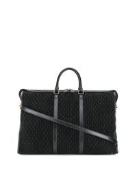 schwarze Segeltuch Sporttasche von Saint Laurent