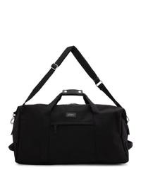 schwarze Segeltuch Sporttasche von Saturdays Nyc