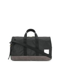 schwarze Segeltuch Sporttasche von Thom Browne