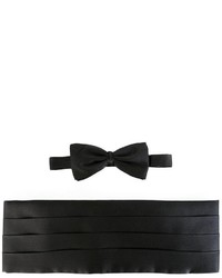 schwarze Seidefliege von Ermenegildo Zegna