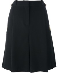 schwarze Seideshorts von Givenchy