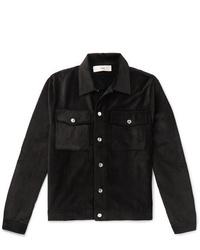 schwarze Shirtjacke aus Cord von Séfr