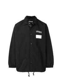 schwarze Shirtjacke von adidas