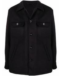 schwarze Shirtjacke von Alexander McQueen