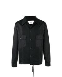 schwarze Shirtjacke von AMI Alexandre Mattiussi