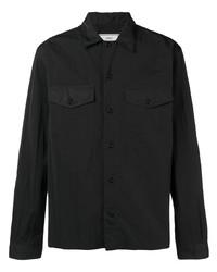 schwarze Shirtjacke von Ami Paris