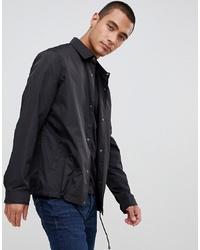 schwarze Shirtjacke von ASOS DESIGN