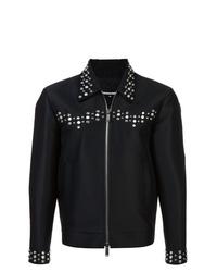 schwarze Shirtjacke von DSQUARED2