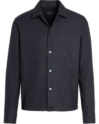 schwarze Shirtjacke von Ermenegildo Zegna