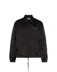 schwarze Shirtjacke von Facetasm