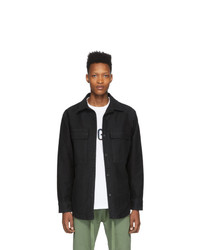 schwarze Shirtjacke von Fear Of God