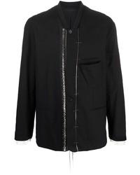schwarze Shirtjacke von Haider Ackermann