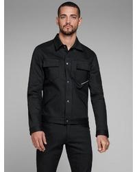 schwarze Shirtjacke von Jack & Jones