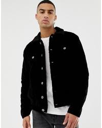schwarze Shirtjacke von Le Breve