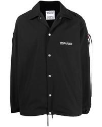 schwarze Shirtjacke von Marcelo Burlon County of Milan