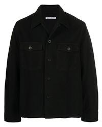 schwarze Shirtjacke von Our Legacy