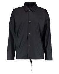 schwarze Shirtjacke von Rains