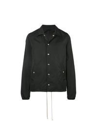 schwarze Shirtjacke von Rick Owens