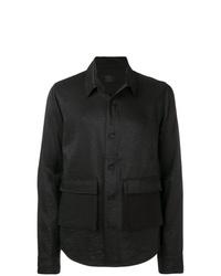schwarze Shirtjacke von RtA