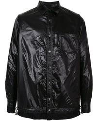 schwarze Shirtjacke von Sacai