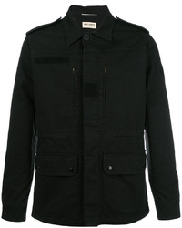schwarze Shirtjacke von Saint Laurent